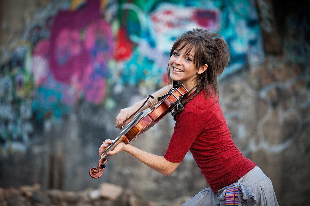 Lindsey Stirling Violinist Cute Girl Woman Poster