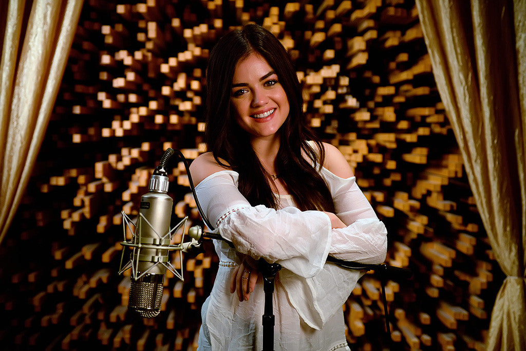 Lucy Hale Cute Girl Woman Poster