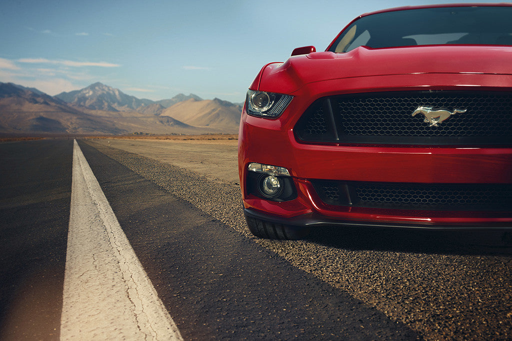 Ford Mustang GT Muscle Car Poster