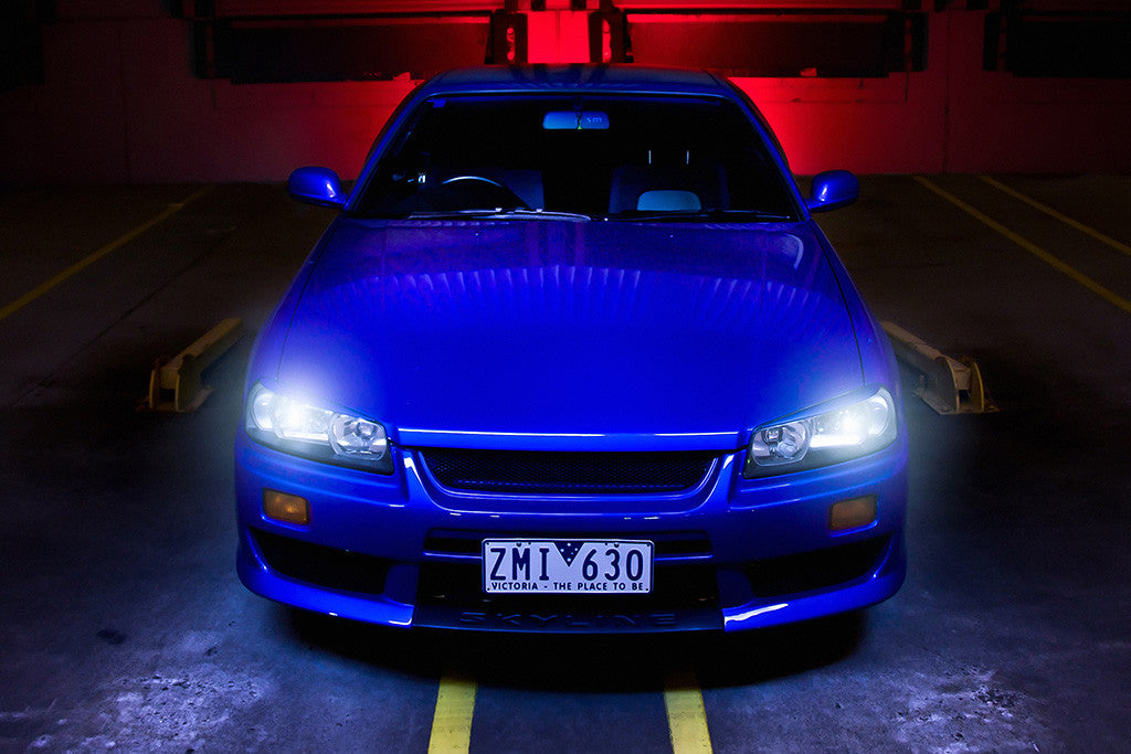 Nissan Skyline R34 Car Poster