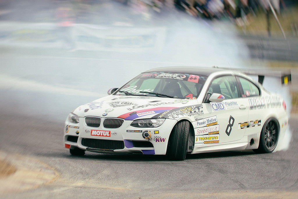 BMW M3 Drifting Tuning Car Poster