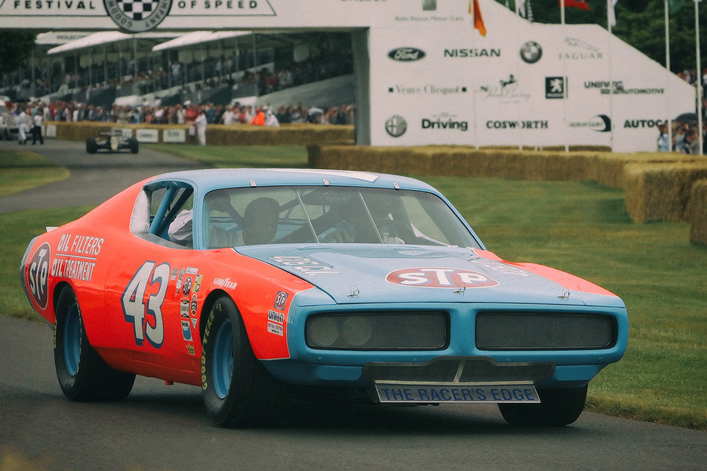 Dodge Charger Nascar Muscle Car Poster