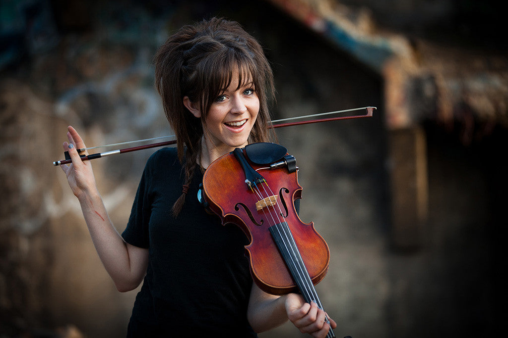Lindsey Stirling Smile Violinist Cute Girl Woman Poster