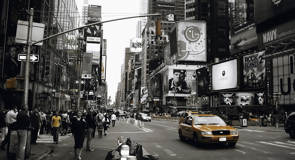 Times Square New York Cityscape Poster