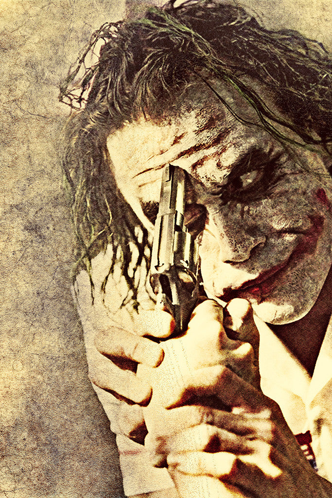 Joker Batman Introduce A Little Anarchy Poster