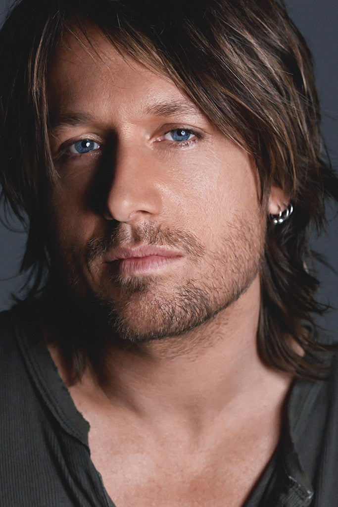 Keith Lionel Urban Country Music Singer Poster