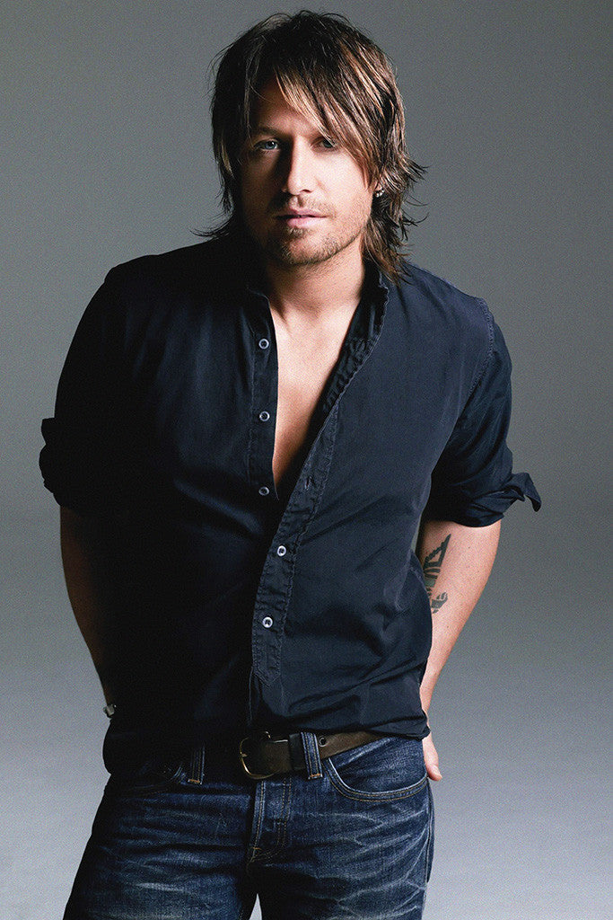 Keith Urban Country Music Poster