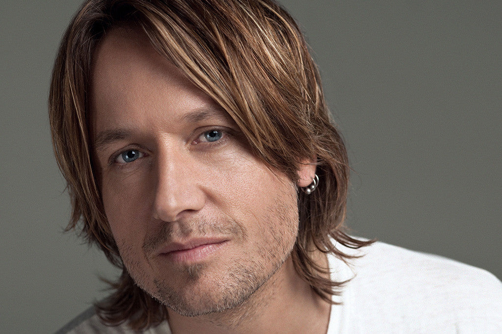 Keith Urban Face Poster