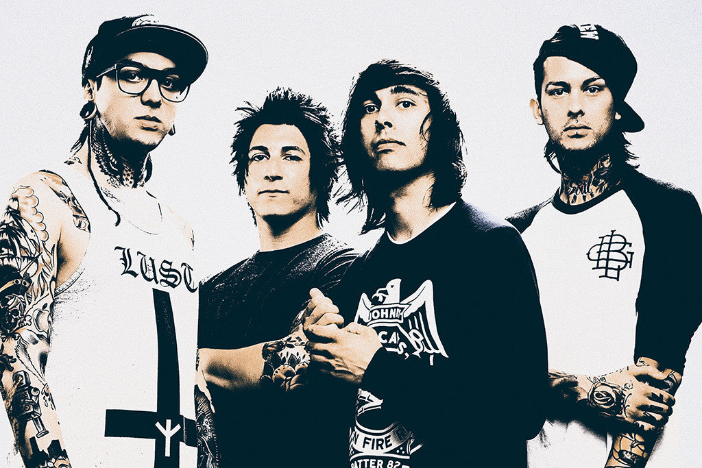 Pierce The Veil Band Post-Hardcore Band Poster