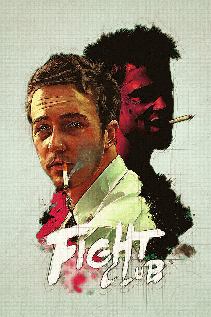 Fight Club Fan Art Poster