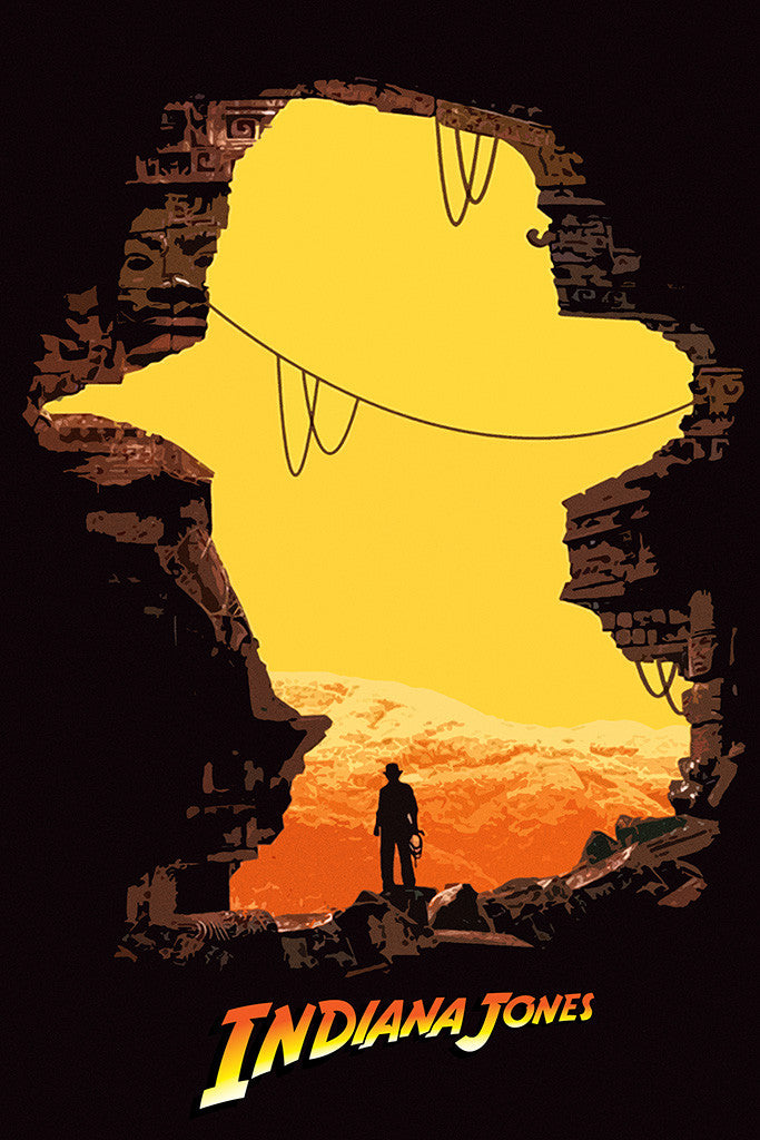 Indiana Jones Fan Art Poster
