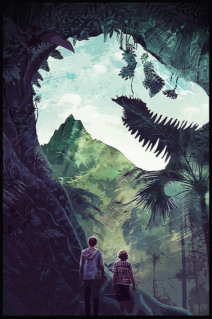 Jurassic World Fan Art Poster