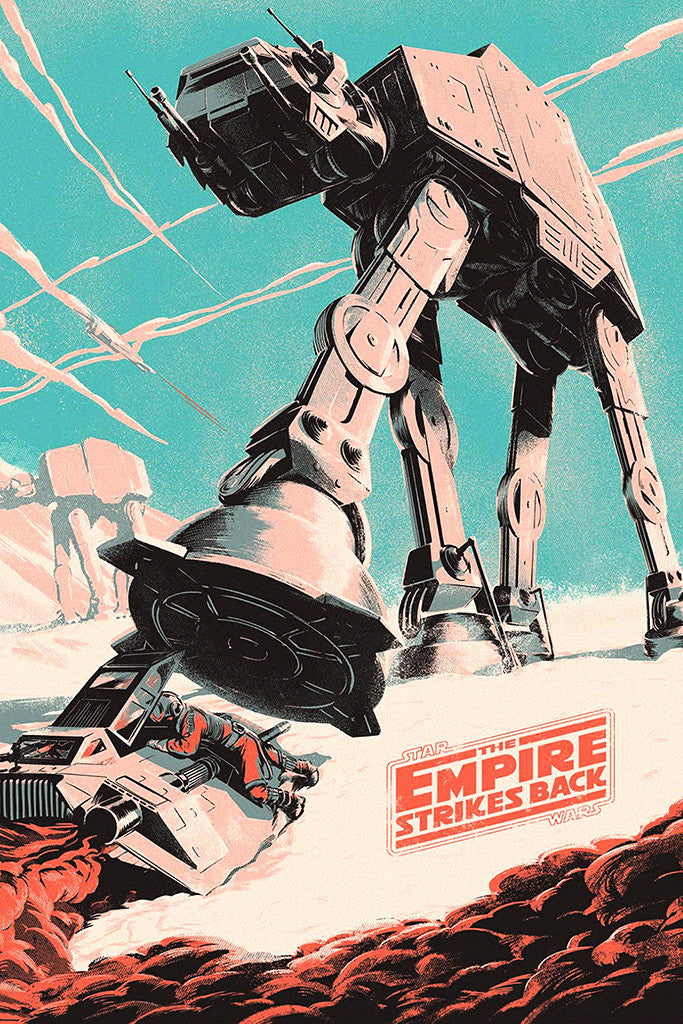 Star Wars The Empire Strikes Back Fan Art Poster