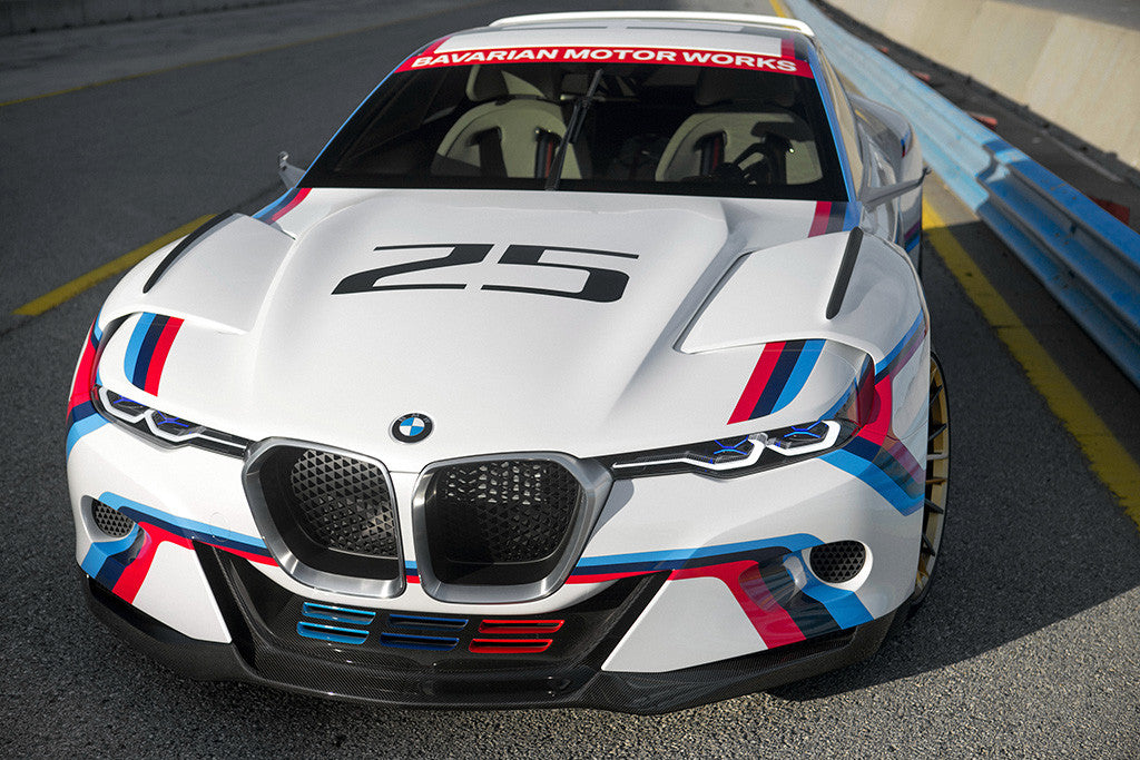 BMW CSL Hommage New Car Poster