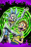 Rick And Morty Acid Poster