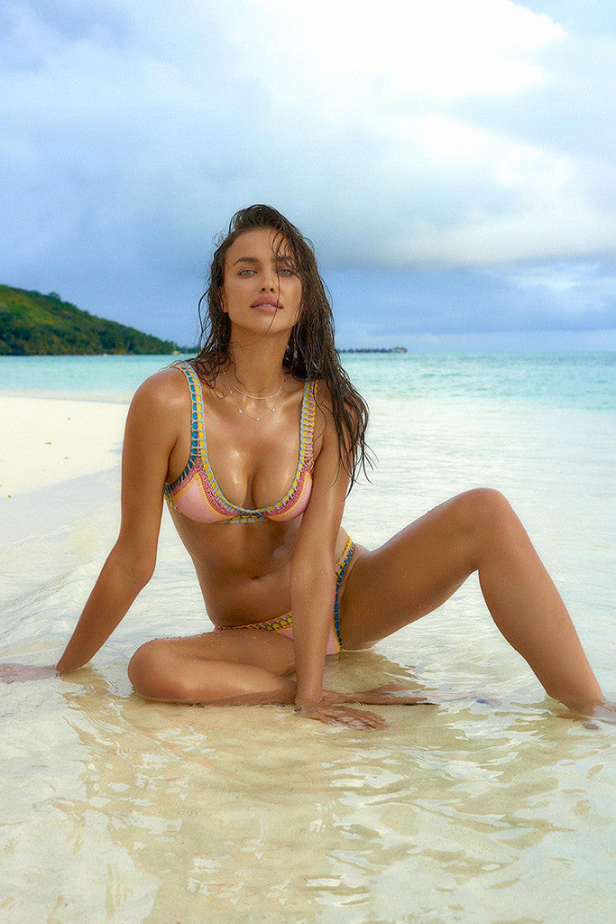 Irina Shayk Sports Illustrated Bikini Hot Sexy Girl Model Poster