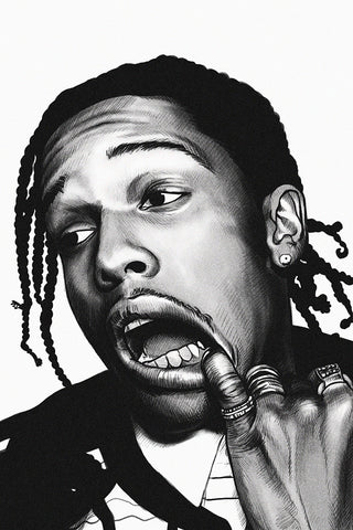 Asap Rocky Rapper Music Hip Hop Poster My Hot Posters