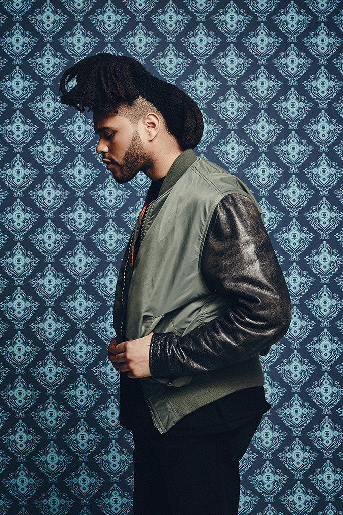 The Weeknd Rapper Music Hip-Hop Poster