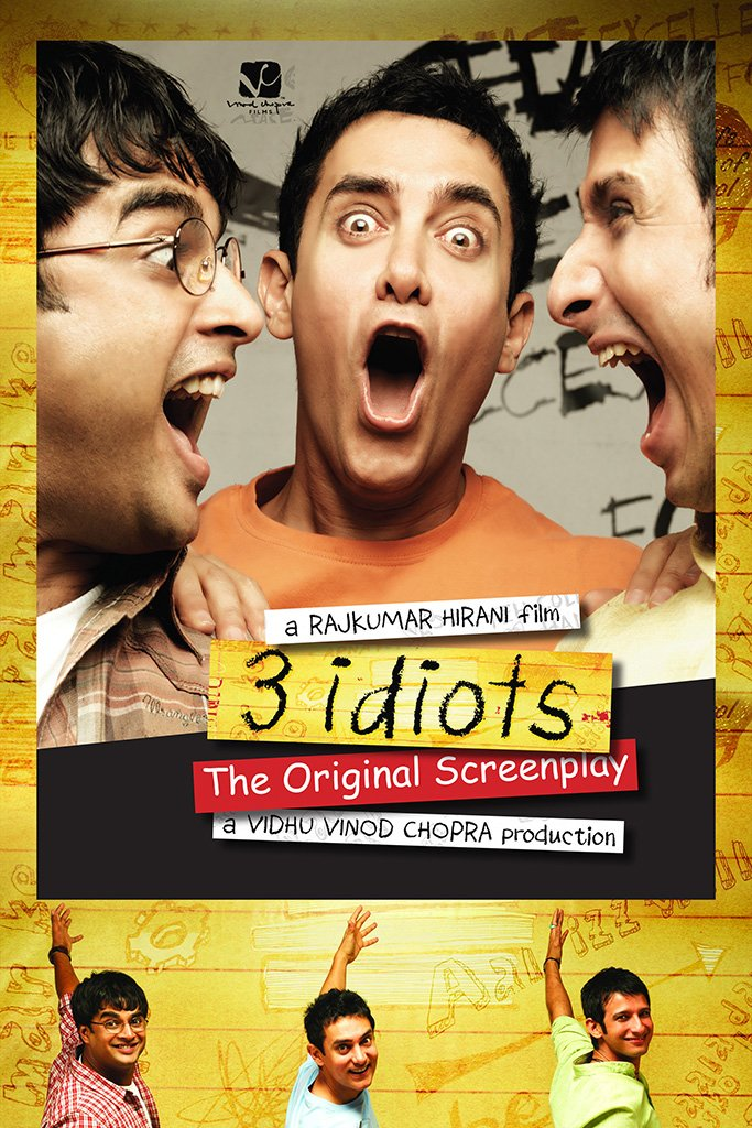 3 Idiots Hindi Old Film Poster My Hot Posters