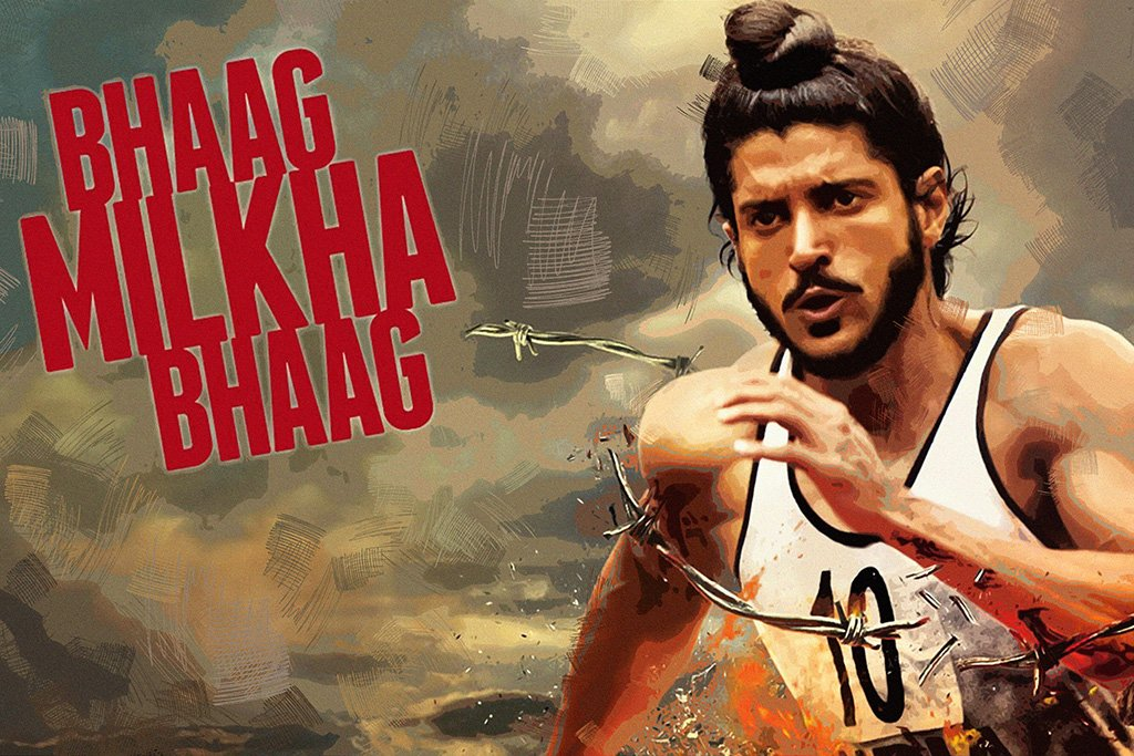 Bhaag Milkha Bhaag Bollywood Movie Poster