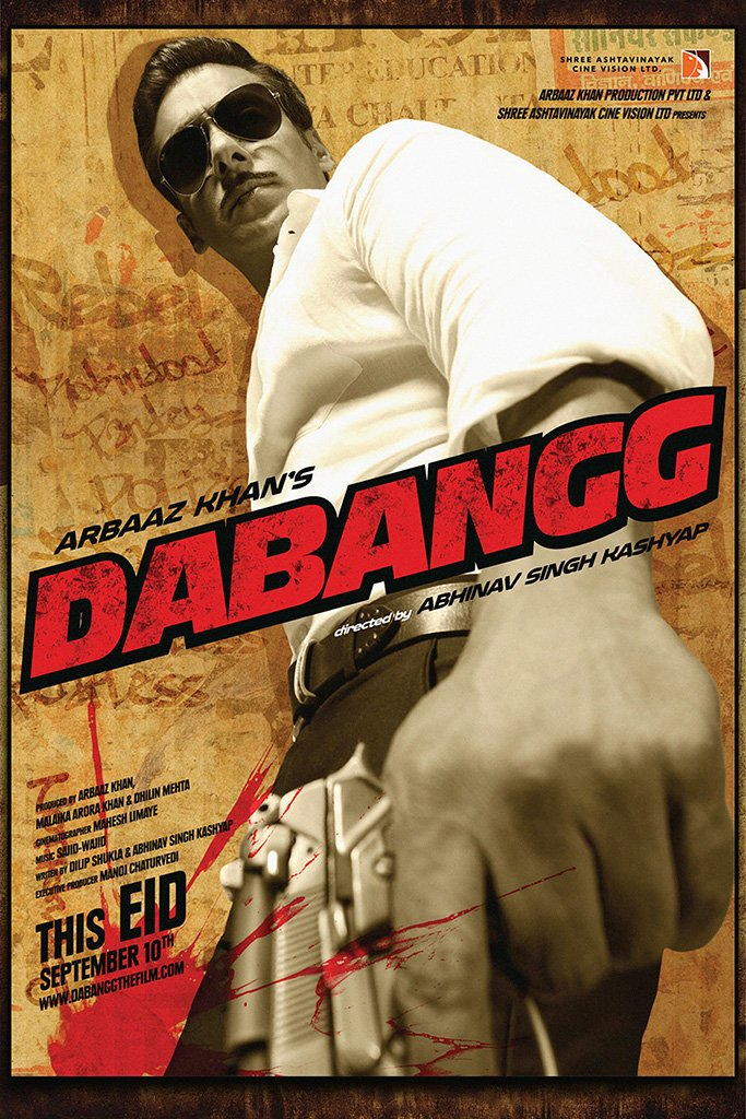 Dabangg Bollywood Movie Poster