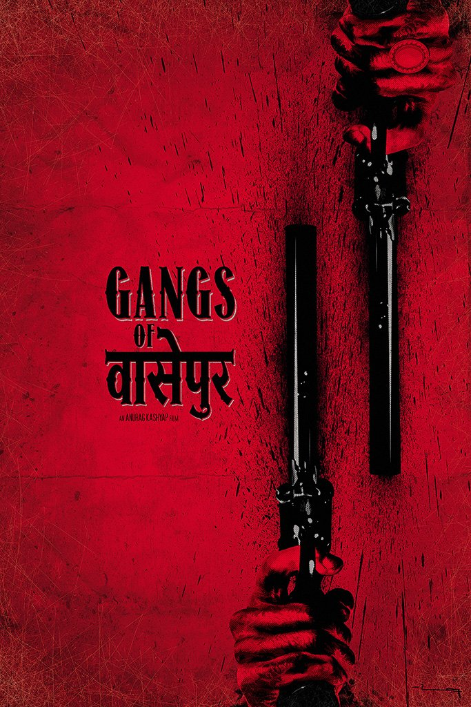 Gangs of Wasseypur Hindi Bollywood Indian Old Film Movie Poster