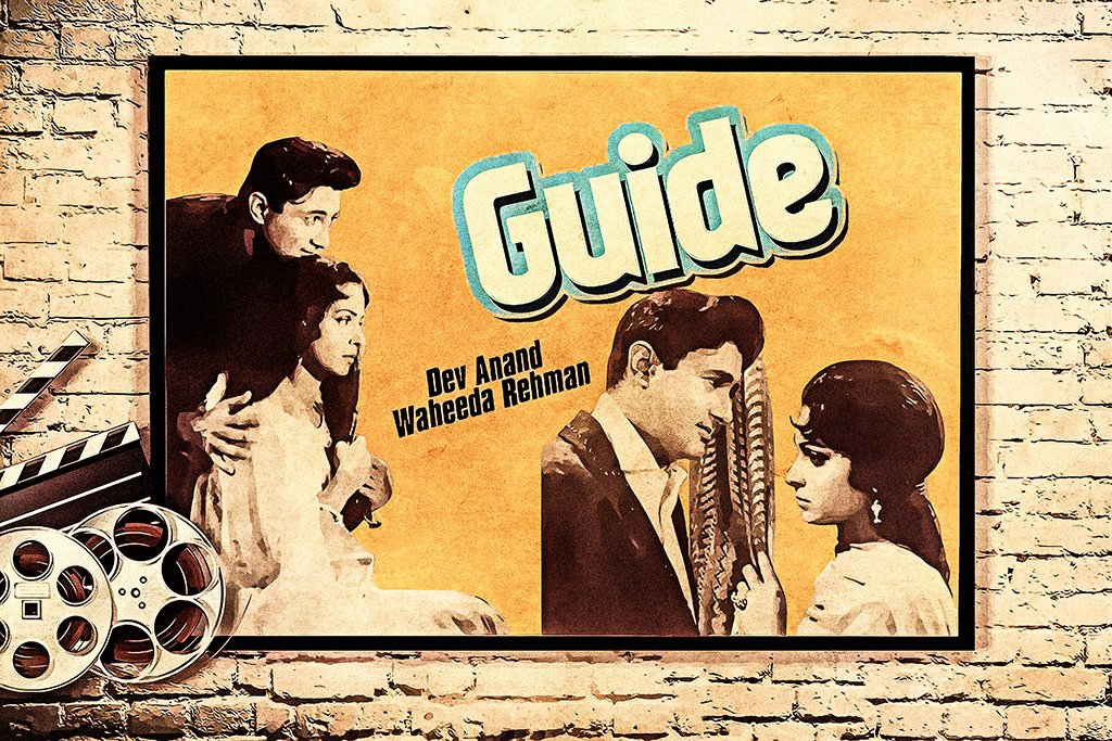 Guide Hindi Old Film Poster