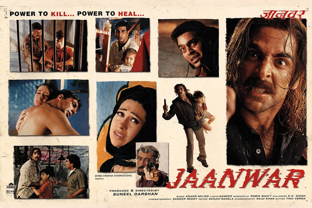 Jaanwar Bollywood Movie Poster