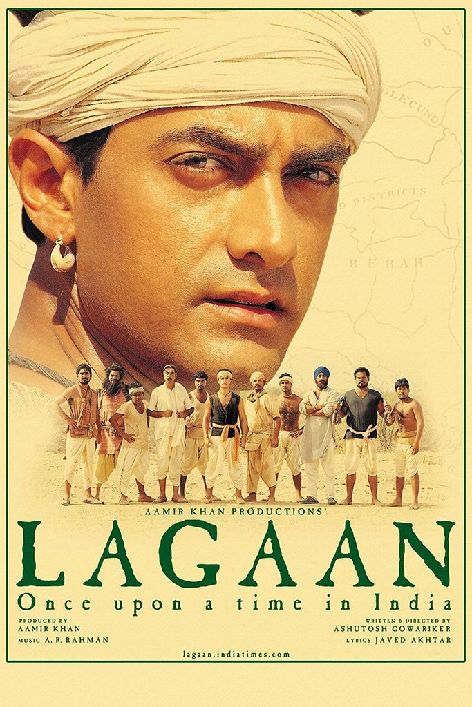 Lagaan Bollywood Movie Poster