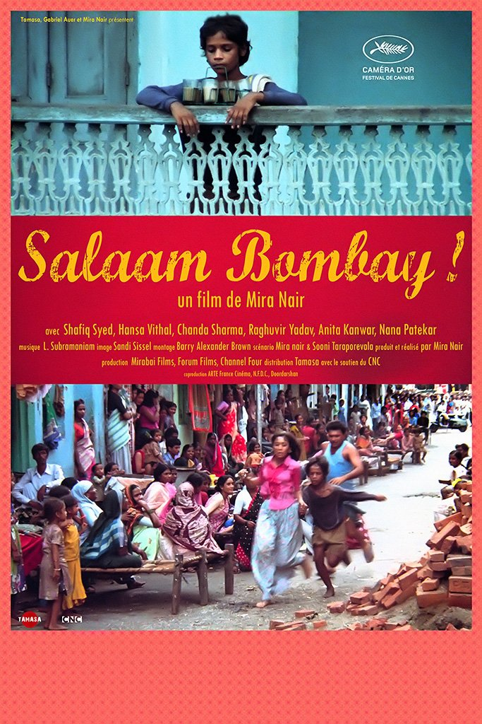 Salaam Bombay! Hindi Old Film Poster