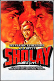 Sholay Bollywood Movie Poster