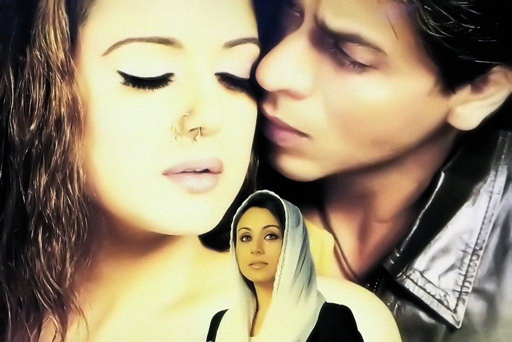 Veer-Zaara Bollywood Movie Poster