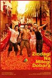 Zindagi Na Milegi Dobara Hindi Old Film Poster
