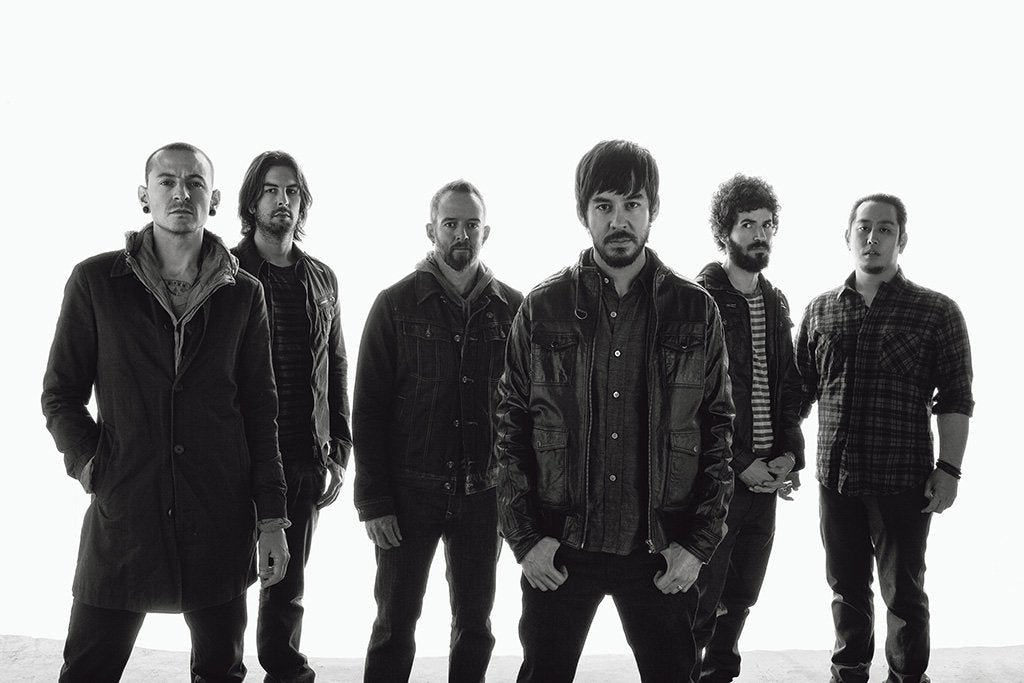 Linkin Park Black and White 2017 Poster