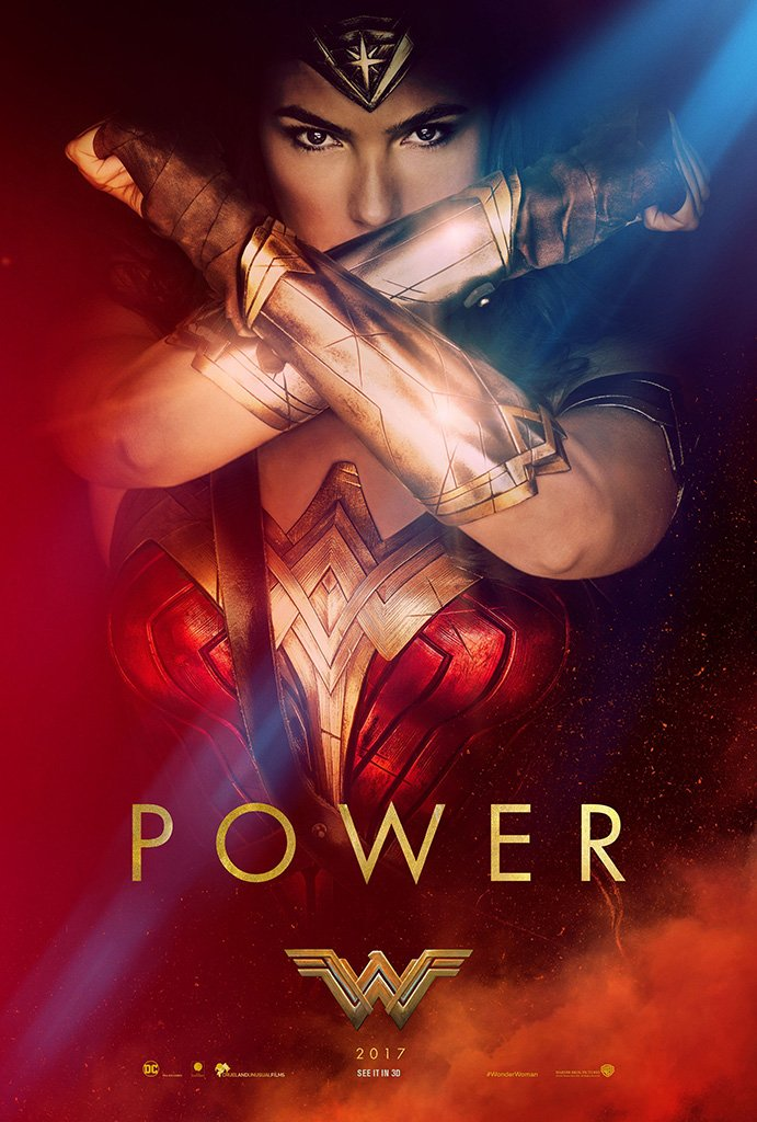 Wonder Woman 2017 Power Movie Poster