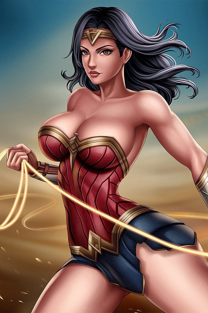 Wonder woman hot boobs — pic 4