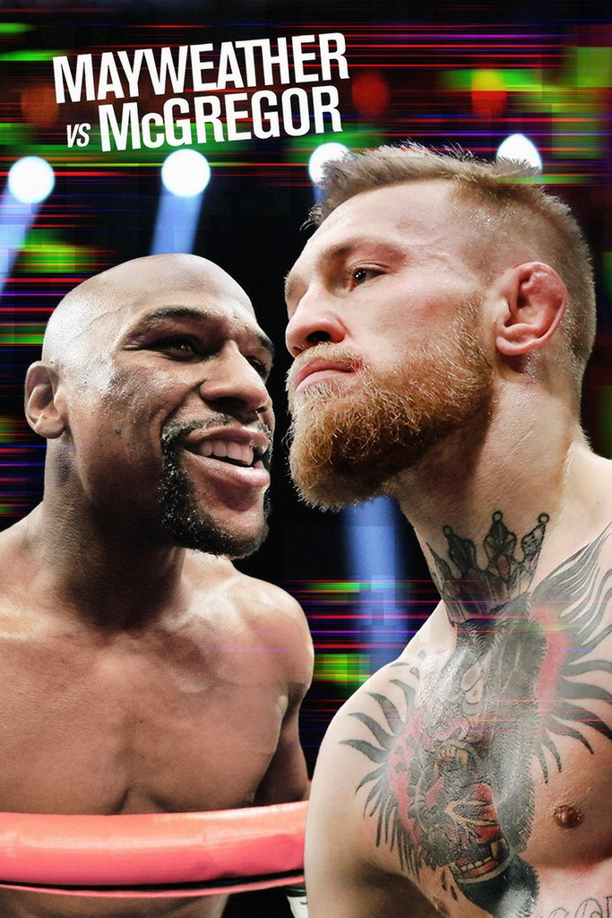 Conor McGregor vs Floyd Mayweather Poster