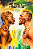 Floyd Mayweather vs Conor McGregor Poster