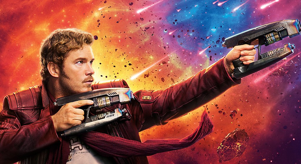 Guardians of the Galaxy Vol. 2 Star-Lord Poster