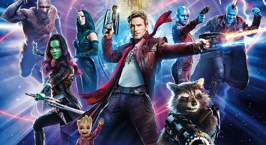 Guardians of the Galaxy Vol. 2 Characters Poster