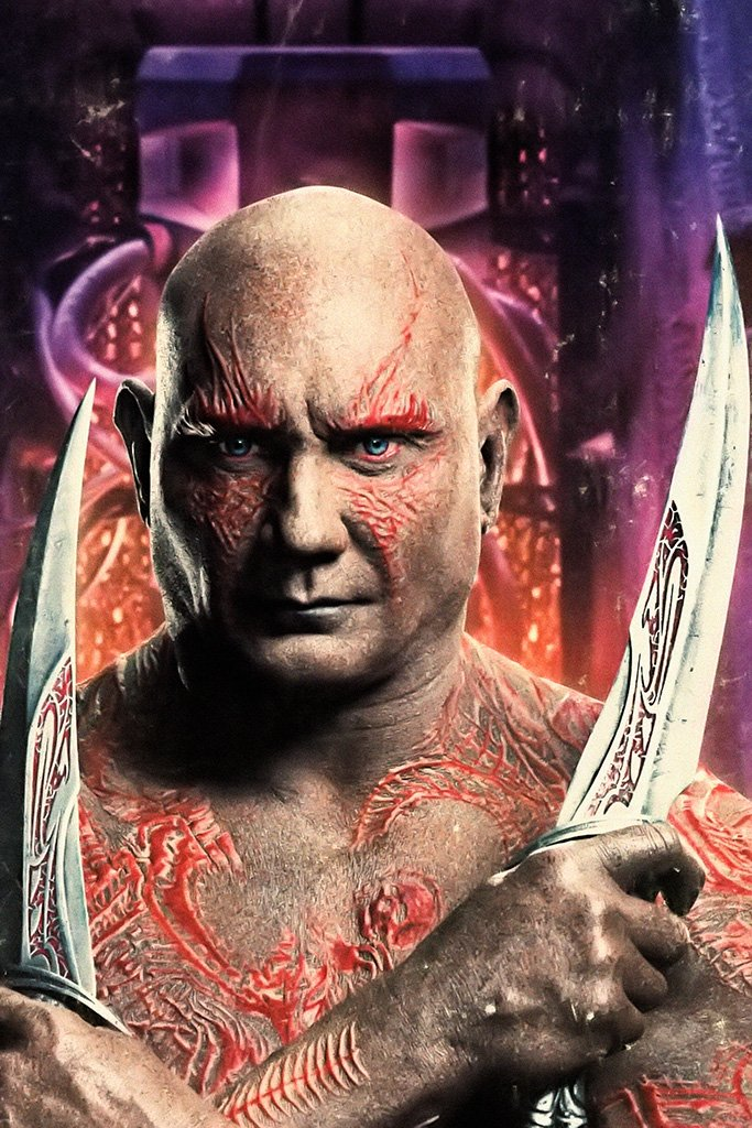 Guardians of the Galaxy Vol. 2 Drax the Destroyer Poster