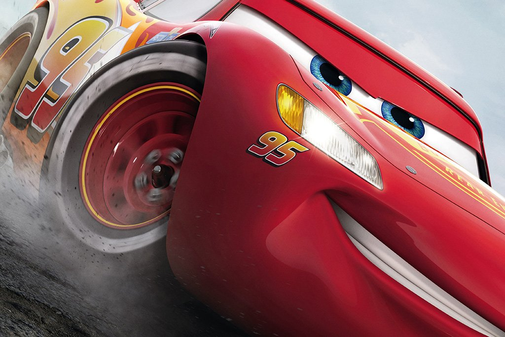 Cars 3 2017 Lightning Mcqueen Movie Poster