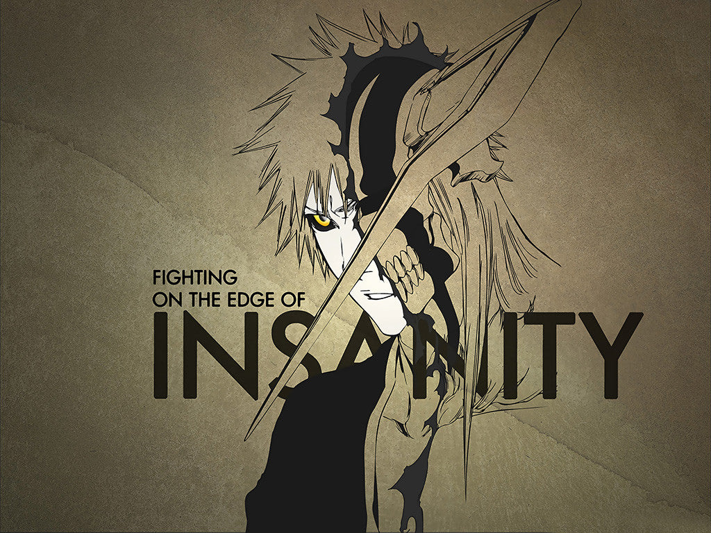 Bleach Insanity Anime Manga Poster