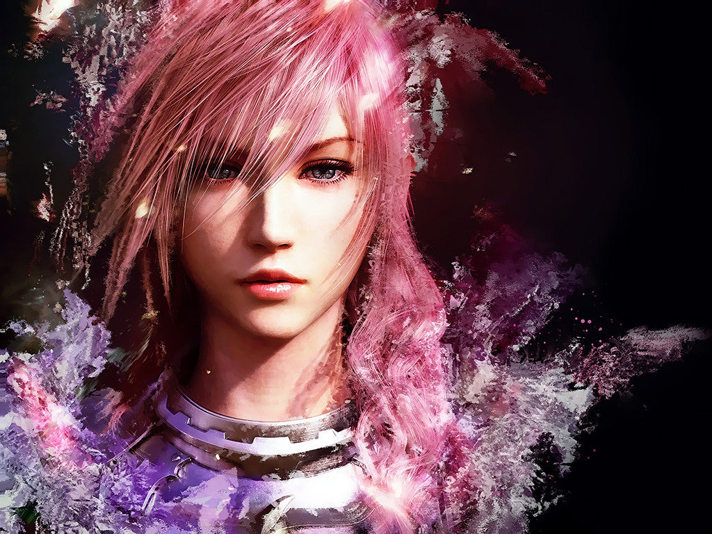 Final Fantasy XIII FFXIII Game Anime Multicolore Poster