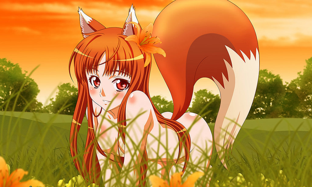 Spice And Wolf Pin-Up Cute Horo Forest Poster