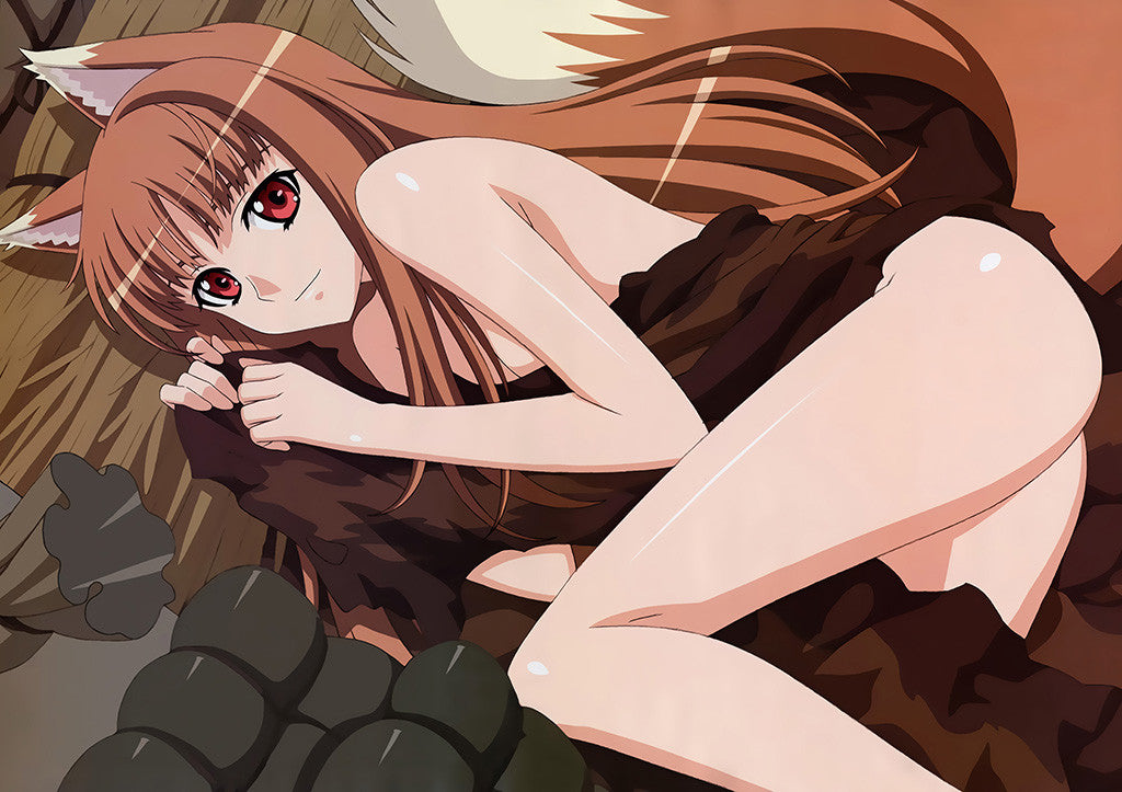 Spice And Wolf Cute Hot Sexy Girl Horo Anime Poster