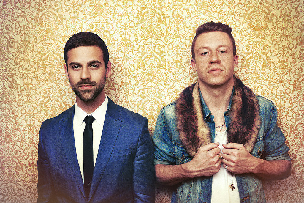 Macklemore & Ryan Lewis Music Rap Hot Poster