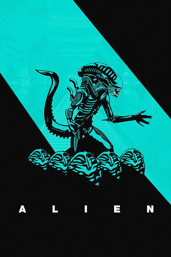 Alien Movie Fan Art Poster
