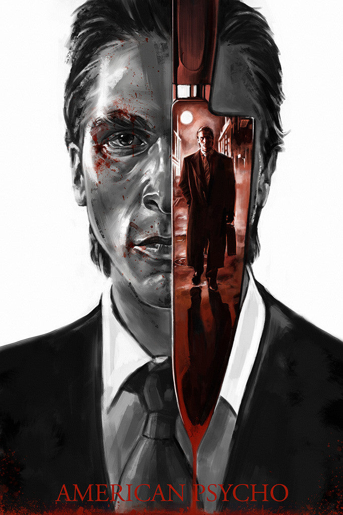 American Psycho Movie Fan Art Poster