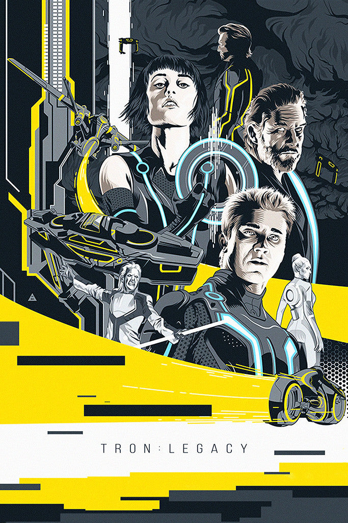 TRON Legacy Movie Fan Art Poster – My Hot Posters